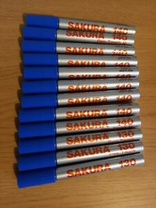 Sakura 140 X 9 and 130 x 3 BLUE - Job Lot of 12 to clear