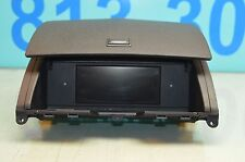 08-11 W204 MERCEDES C300 C350 LCD RADIO SCREEN W/ COVER ASSEMBLY BLK 2046800931