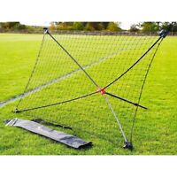 Precision Football Soccer Quick Setup Portable Training Goal Shot Rebounder