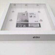 New Square Deep White 23x23cm Shadow Box Photo Picture Frame Scrabble Display