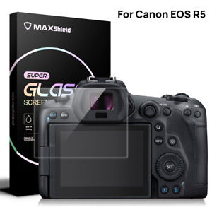 For Canon EOS R RP R5 R6 DSLR Tempered Glass LCD Camera Screen Protector Film 9H