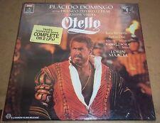 Domingo/Maazel VERDI Otello (Zeffirelli Film) - Angel DSCB-3993 SEALED
