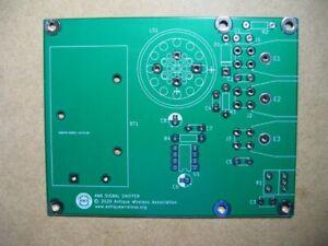 Signal Tracer Printed Circuit Board -  Antique Radio - Tube Amp
