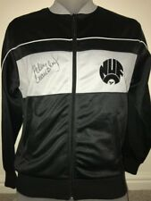 Signed Peter Beardsley Newcastle United Retro 1980' Autograph Tracksuit Top
