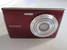 SONY CYBER-SHOT DSC-W510 12.1 MEGA PIXELS DIGITAL CAMERA RED