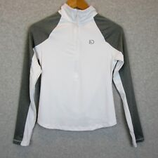 New Aeropostale LLD Womens Gray White Athletic Top Size XS 1/4 Zip Jacket NWT