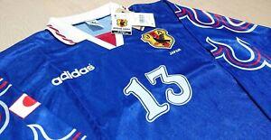 Retro Japan 97 Home Football Shirt L/S #13 Tsuyoshi Kitazawa 北澤豪 キタザワ ツヨシ