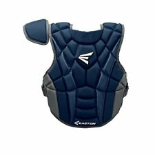 """New Other Easton Prowess P2 Fastpitch Chest Protector Navy/Gray Intermediate 14"""""""