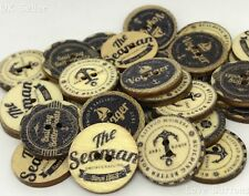 10 UNUSUAL ANCHOR & SEA VOYAGE NAUTICAL BUTTONS SEWING CRAFT SCRAP BOOKING 20mm