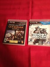 Ghost Recon Future Soldier & God Of War Collection- Ps3- L@@K
