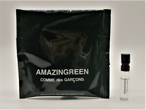 Amazingreen by Comme des Garcons Sample Spray Vial 1.5 ml