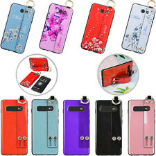 For Samsung Galaxy J7 2017/S10e/S10+ Shockproof Bling Ring Stand Phone Back Case