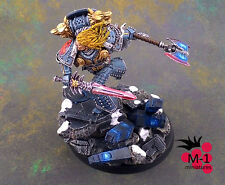 Warhammer 40k Space Wolves Primarch Leman Russ Forge World M-1 pro-painted
