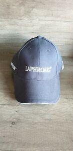 """Rare""  New ; Laphroaig Whisky Grey Charcoal Baseball Cap"
