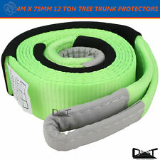 4M Tree Trunk Protector Equalizer Snatch Strap Winch Extension Straps 12 Ton