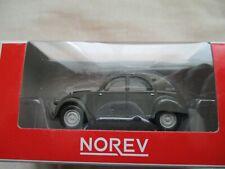 Norev retro Citroen 2cv/2 CV 4x4 Etna gris 1 64 3-inch