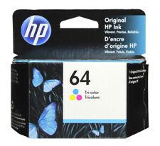 HP #64 Color Ink Cartridge 64 N9J89AN  NEW GENUINE