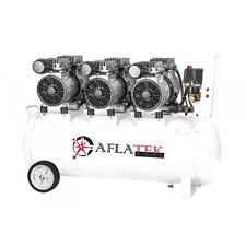 Silent Oil free compressor low noise AFLATEK oilles 80L 230v 210l/min 67dB 1800W