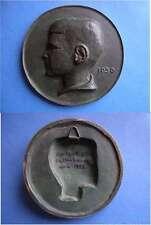 Alte Bronzeplakette Gerhart Otto Kaltenhauser 1930