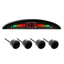 Einparkhilfe mit Display&Ton, 4-Sensoren in Schwarz Rückfahrwarner Parkhilfe PDC