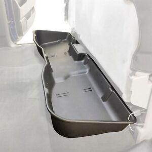 Underseat Storage Box Fits 2007-2018 Chevy Silverado or Sierra CREW CAB Black
