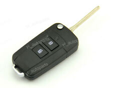2 Buttons Remote Flip Key Shell Case Cover Fit For Hyundai Santa Fe No Panic