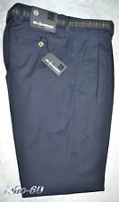 Pantalone uomo taglia 46 48 50 52 54 56 58 60 62 classico Blu SEA BARRIER GARY