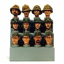 Model Victoria 1/35 Italian Heads Set WWII No.1 (12 heads) 4010