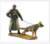 1:35 WWII American Troops and Dog Model High Quality Resin Kit 2 Figures