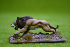 DeeZee Miniatures LION ATTACKING DZ23 28mm Wargames
