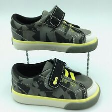 Toddler Shoes Size 5 See Kai Run Monterey II Sneaker Grey Black  Slip-on NEW!!!
