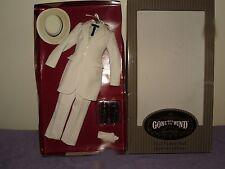 Franklin Mint GWTW Rhett Butler Doll Burning Of Atlanta Costume For A Doll W COA