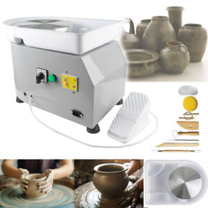 "Electric Pottery Wheel Ceramic Machine Children DIY Clay Art Craft Molding 9.8"""