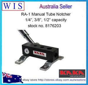 "RA-1 Manual Tube Notcher,1/4"",3/8"",1/2"" Light Weight,High Precision Pipe Notcher"