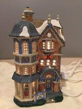 Lemax 2003 Park Manor Caddington Christmas Village House Excellent