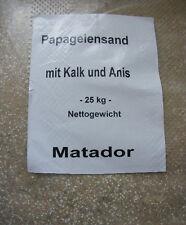 Papageiensand Sand Vogelsand 25 kg Grundpreis 0,51€/kg