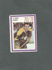 1970-71 Esso Hockey Stamp Gerry Ehman California Golden Seals