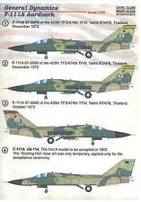 Print Scale Decals 1/72 GENERAL DYNAMICS F-111A AARDVARK
