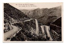 06 - cpa - Carretera Niza con SOSPEL - Los cordones de la Solapa Braus (C3058)