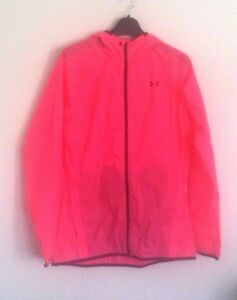 NWOT UNDER ARMOUR Womens UA Storm Anemo Jacket Small S Lightweight Pink jc136