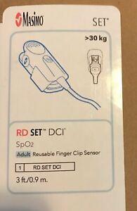 Masimo RD SET DCI SpO2 Adult Reusable Finger Clip Sensor -REF 4050 (New)