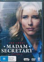 Madam Secretary Season 4 Four DVD NEW Region 4 Tea Leoni