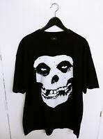 Vtg 2007 Misfits Big Skull Fiend Danzig Horror Punk Band T-Shirt Size (XL)