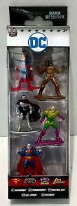 Jada Toys Nano Metalfigs DC Superman General Zod Bizarro Lex Luthor Parademon