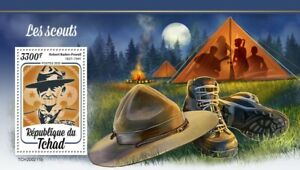Chad Scouting Stamps 2020 MNH Boy Scouts Robert Baden-Powell People 1v S/S