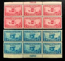 US Aeronautics Conference Issue SC#649-650  Plate Block of 6 MNH/OG CV:$78