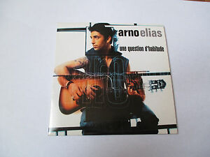 Arno Elias - une question d'habitude - cd single 2 titres 2001