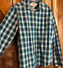 Gently Worn! Men's ORIGINAL PENGUIN HERITAGE SLIM FIT Plaid Flannel Shirt XL