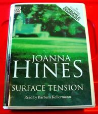 Joanna Hines Surface Tension 10-Tape UNAB Audio Barbara Kellerman Crime Thriller
