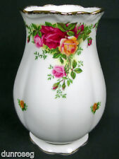 OLD COUNTRY ROSES LARGE GAINSBOROUGH VASE, 1st QLTY, VGC, 1993-2002 ROYAL ALBERT